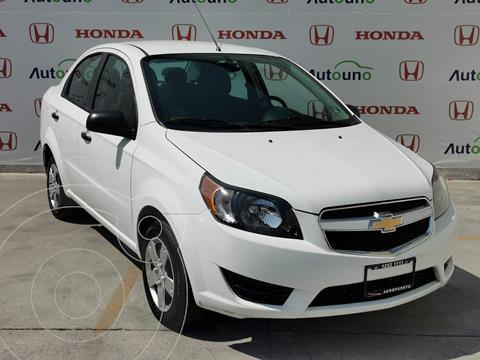 Chevrolet Aveo LS usado (2017) color Blanco precio $119,000