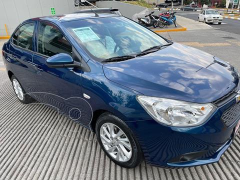 Chevrolet Aveo LT Aut usado (2020) color Azul financiado en mensualidades(enganche $51,304 mensualidades desde $5,932)