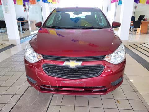 Chevrolet Aveo LS usado (2021) color Rojo precio $219,900