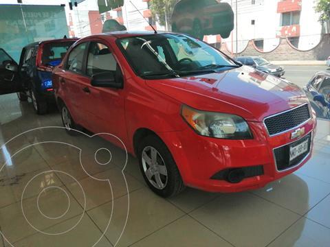 Chevrolet Aveo LS Aa usado (2015) color Rojo precio $130,000