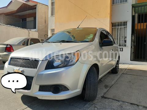 Chevrolet Aveo LT usado (2015) color Plata precio $118,000