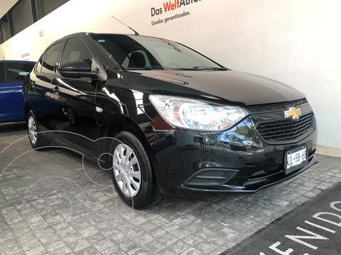 Chevrolet Aveo LS usado (2019) color Negro Grafito precio $194,000