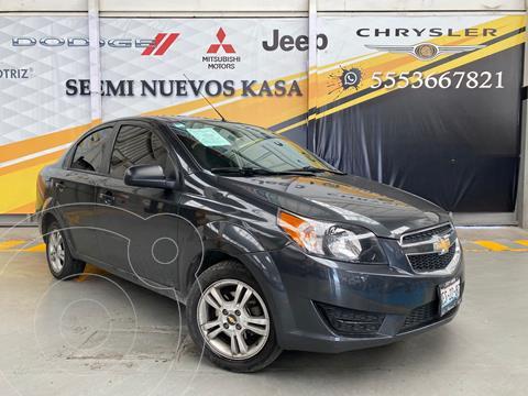 Chevrolet Aveo LS usado (2017) color Gris precio $149,000