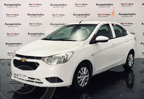 Chevrolet Aveo LS Aut usado (2018) color Blanco financiado en mensualidades(enganche $33,000 mensualidades desde $3,893)