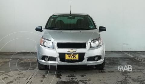 Chevrolet Aveo LS Aa usado (2017) color Plata Dorado precio $145,000