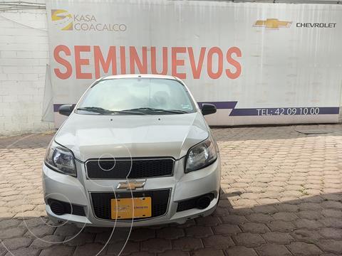 Chevrolet Aveo LS usado (2016) color Plata Dorado precio $125,000