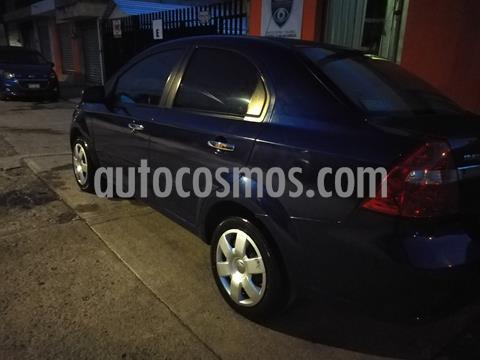 Chevrolet Aveo LT usado (2015) color Azul Metalico precio $110,000