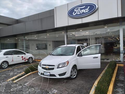 Chevrolet Aveo LS MANUAL usado (2018) color Blanco precio $138,006