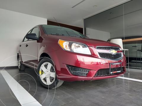 Chevrolet Aveo LS Aa usado (2017) color Rojo Victoria precio $129,800