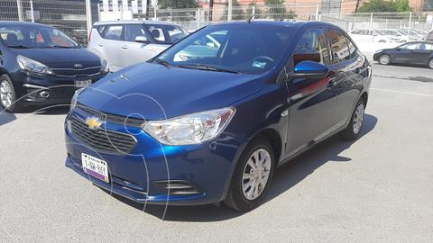 Chevrolet Aveo LS usado (2020) color Azul Acero precio $187,000