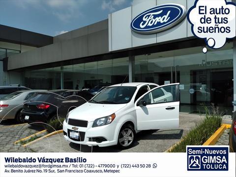 Chevrolet Aveo LS Aa usado (2017) color Blanco precio $110,000