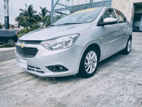Chevrolet Aveo LT usado (2018) color Plata precio $164,900