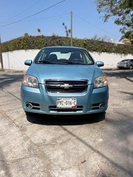 Chevrolet Aveo Paq E usado (2011) color Azul Claro precio $85,000
