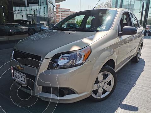 Chevrolet Aveo LT usado (2015) color Champagne precio $130,000