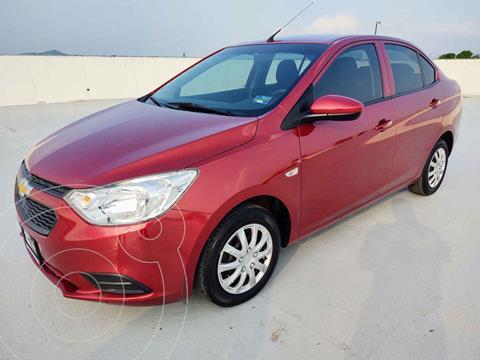 Chevrolet Aveo LS usado (2019) color Rojo precio $185,000