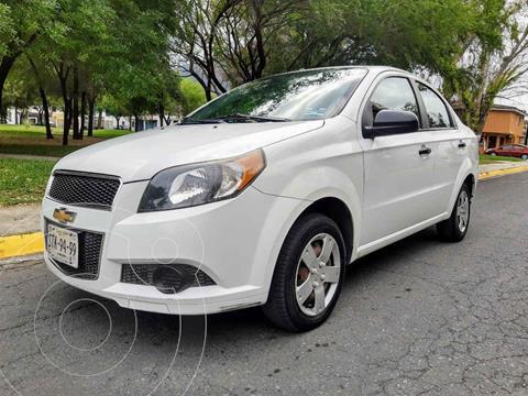 Chevrolet Aveo LS Aa usado (2013) color Blanco precio $105,000