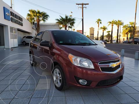 Chevrolet Aveo LTZ Aut usado (2017) color Rojo precio $172,530