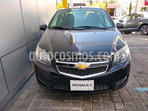 Chevrolet Aveo 4P LT L4/1.6 MAN usado (2017) color Negro precio $130,000