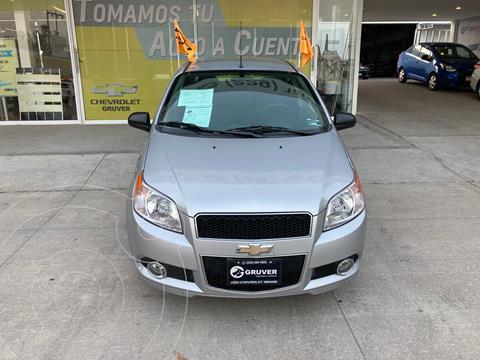 Chevrolet Aveo LTZ Aut usado (2017) color Plata Dorado precio $155,000
