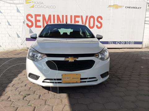 Chevrolet Aveo LS usado (2018) color Blanco precio $168,000