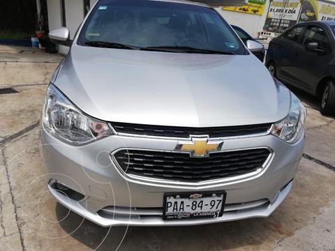 Chevrolet Aveo LTZ usado (2020) color Plata Dorado precio $194,900