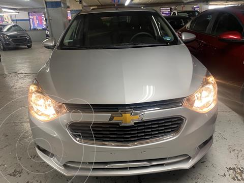 Chevrolet Aveo LTZ usado (2020) color Plata precio $199,000