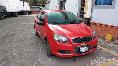 Chevrolet Aveo LS usado (2015) color Rojo precio $95,000