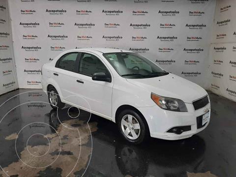 Chevrolet Aveo LS Aa usado (2015) color Blanco precio $119,990