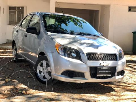 Chevrolet Aveo LS Aa usado (2017) color Plata Brillante precio $145,000