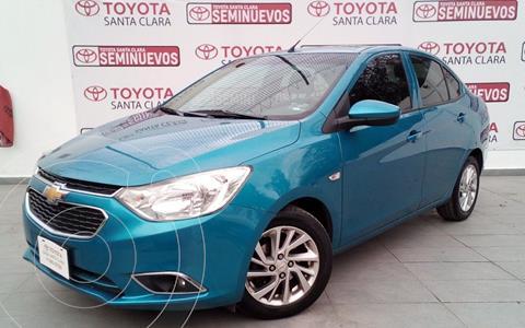 Chevrolet Aveo LTZ usado (2018) color Azul precio $195,000