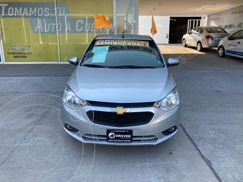Chevrolet Aveo LT Aut usado (2019) color Plata Dorado precio $205,000