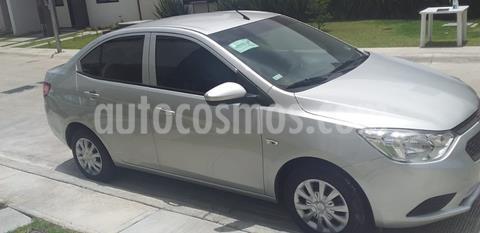 Chevrolet Aveo LT Bolsas de Aire y ABS Aut (Nuevo) usado (2018) color Plata Brillante precio $135,000