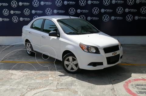 Chevrolet Aveo LT usado (2015) color Blanco precio $110,000