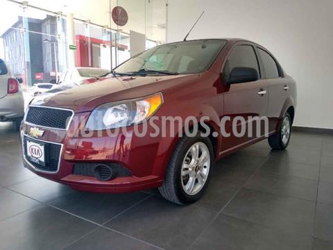 Chevrolet Aveo LS Aa usado (2015) color Rojo precio $124,000