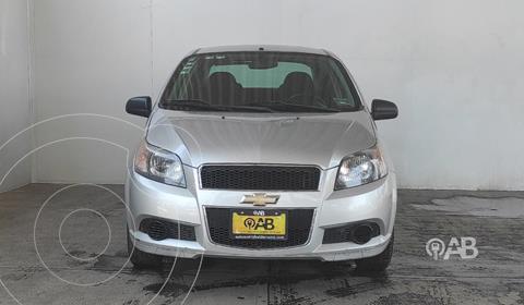 Chevrolet Aveo LS Aa usado (2016) color Plata Dorado precio $123,000