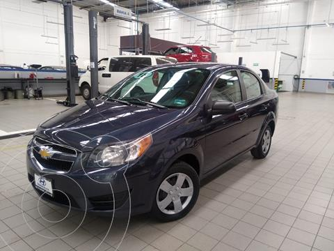 Chevrolet Aveo LS usado (2018) color Azul Acero precio $135,000