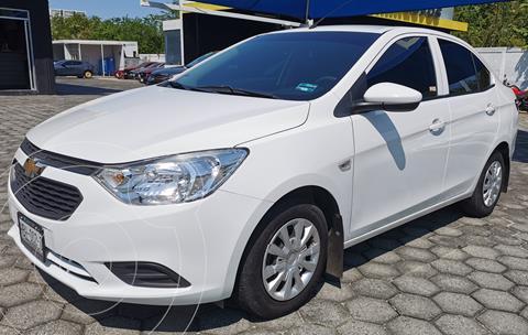 Chevrolet Aveo LS usado (2020) color Blanco precio $190,000