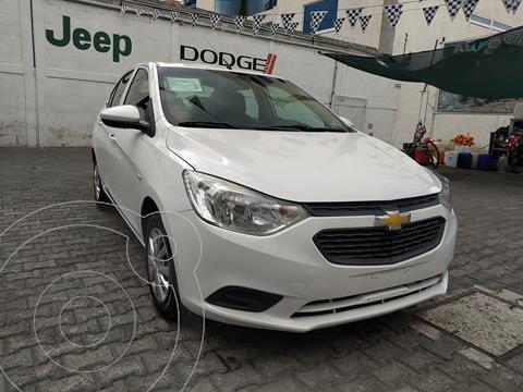 Chevrolet Aveo LS Aa usado (2020) color Blanco precio $215,000