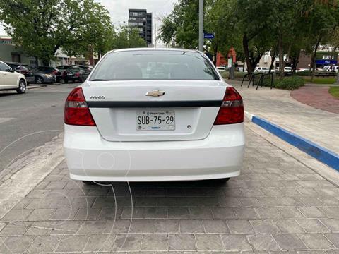Chevrolet Aveo LS usado (2017) color Blanco precio $169,900