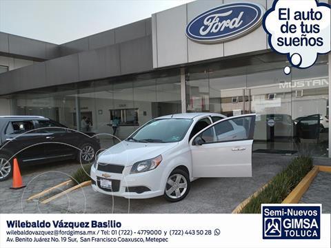 Chevrolet Aveo LT usado (2017) color Blanco precio $125,000