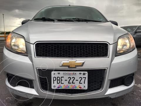 Chevrolet Aveo LS usado (2016) color Plata financiado en mensualidades(enganche $12,990 mensualidades desde $3,879)
