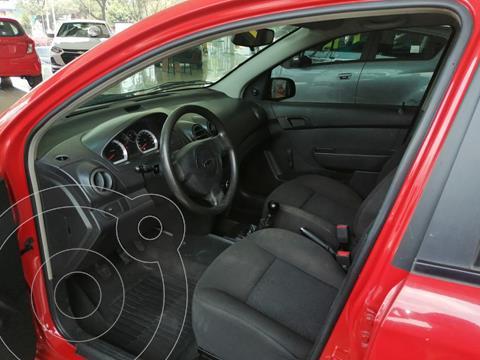 Chevrolet Aveo LS Aa usado (2015) color Rojo precio $115,000