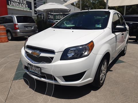 Chevrolet Aveo LS usado (2018) color Blanco precio $153,000