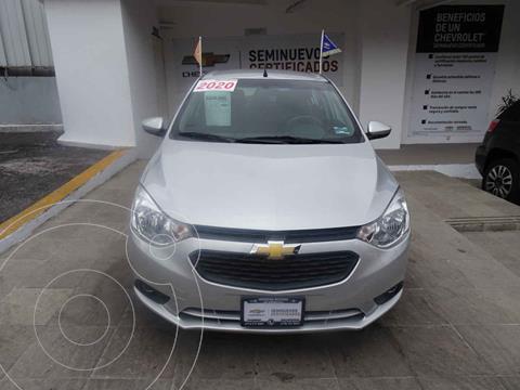 Chevrolet Aveo Paq C usado (2020) color Plata precio $240,000