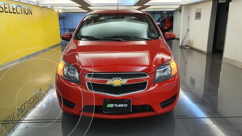 Chevrolet Aveo LS usado (2017) color Rojo precio $135,000