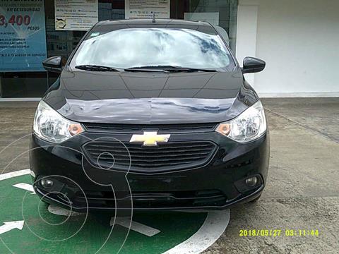Chevrolet Aveo Paq C usado (2020) color Negro precio $220,000