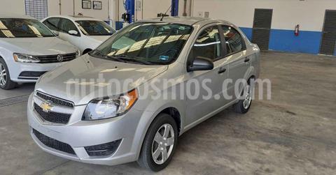 foto Chevrolet Aveo 4p LS L4/1.6 Aut usado (2018) color Plata precio $139,900