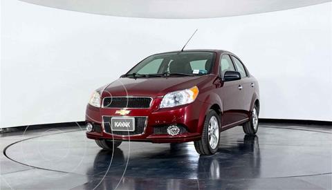 Chevrolet Aveo LTZ (Nuevo) usado (2016) color Rojo precio $134,999