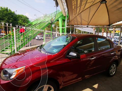 Chevrolet Aveo LT usado (2016) color Rojo precio $129,000