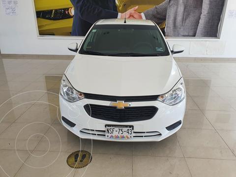 Chevrolet Aveo LS Aa usado (2020) color Blanco precio $185,000